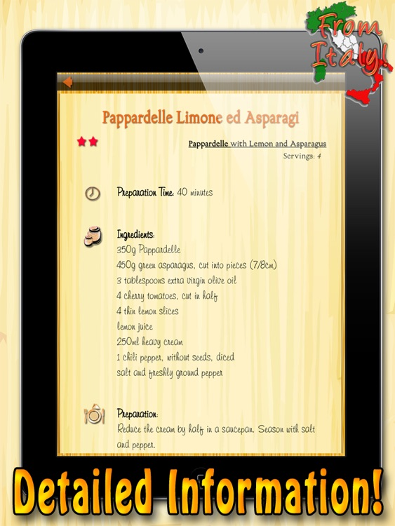 La Pasta HD – The Best Recipes screenshot-3