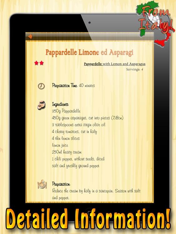La Pasta HD – All the Best Italian Pasta Recipes screenshot-3