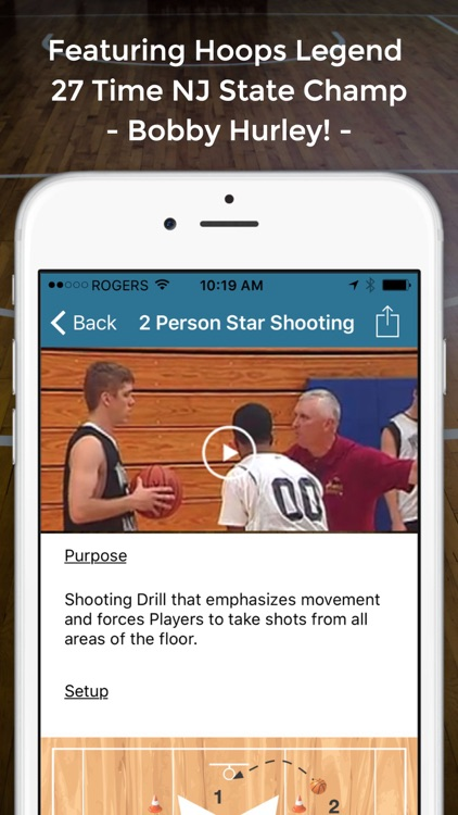 Basketball Shooting Drills screenshot-3