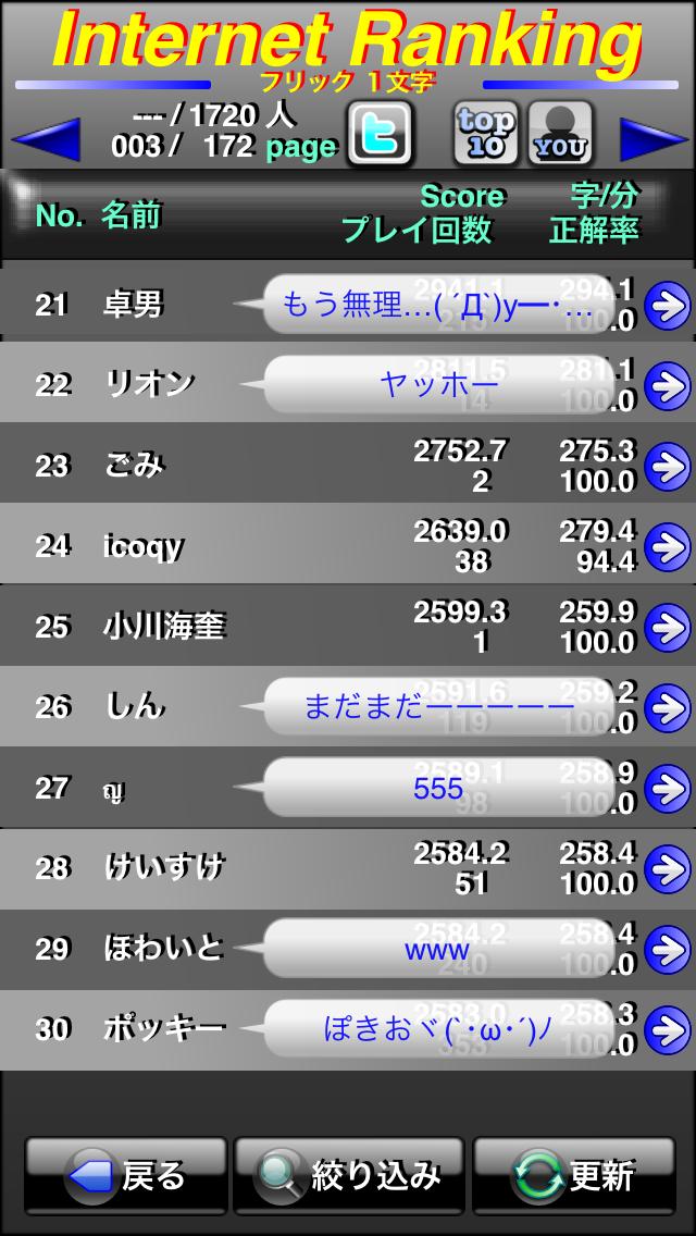 タイピング革命Free ScreenShot4