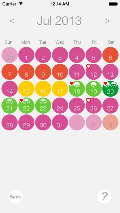 Ovulation and Pregnancy Calendar (Fertility Calculator, Gender Predictor, Period Tracker) screenshot-3