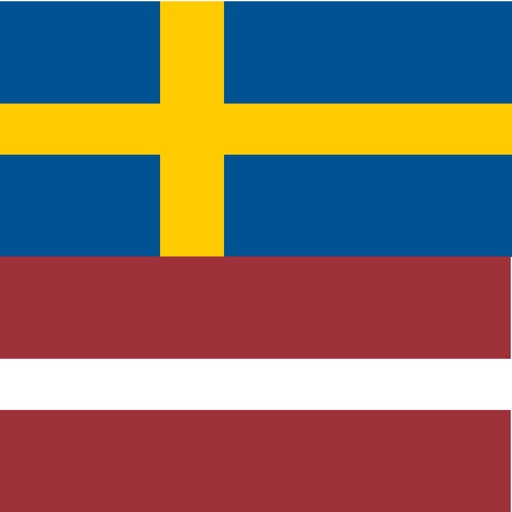 Swedish - Latvian - Swedish dictionary