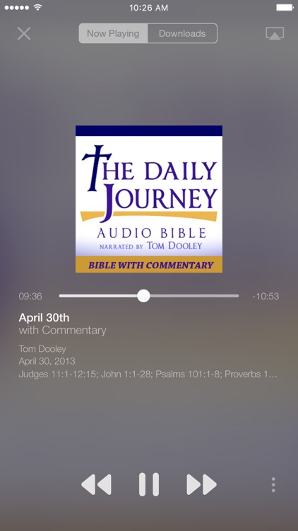 Daily Journey Audio Bible