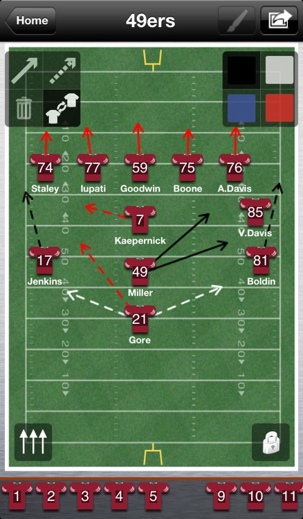 Ultimate Lineup for NFL screenshot-3