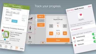 Boot Camp Challenge Screenshot 4