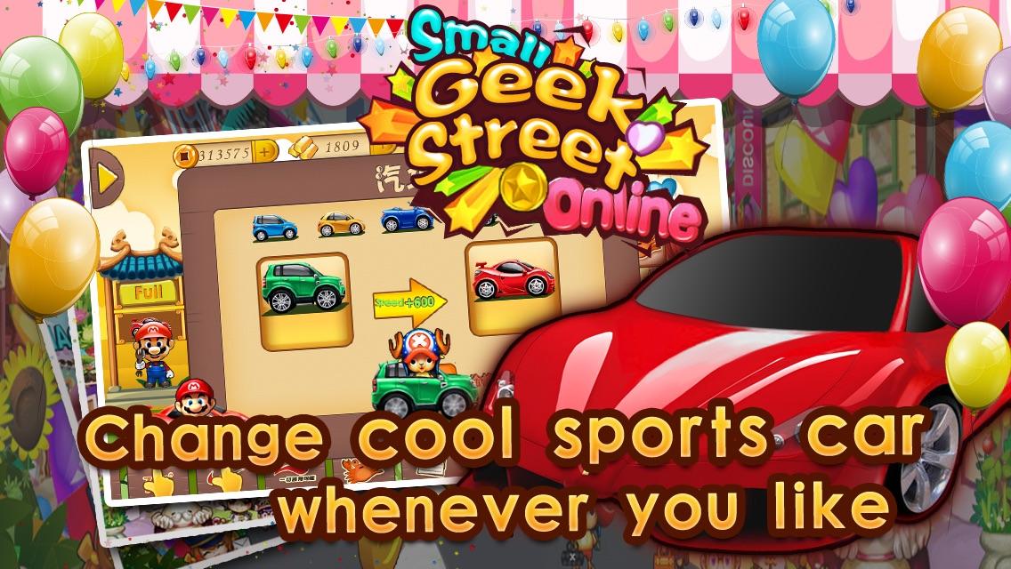 Small Geek Street-Hot collecting puzzle tower defense RPG, modern kingdom, Hero defend Game Screenshot