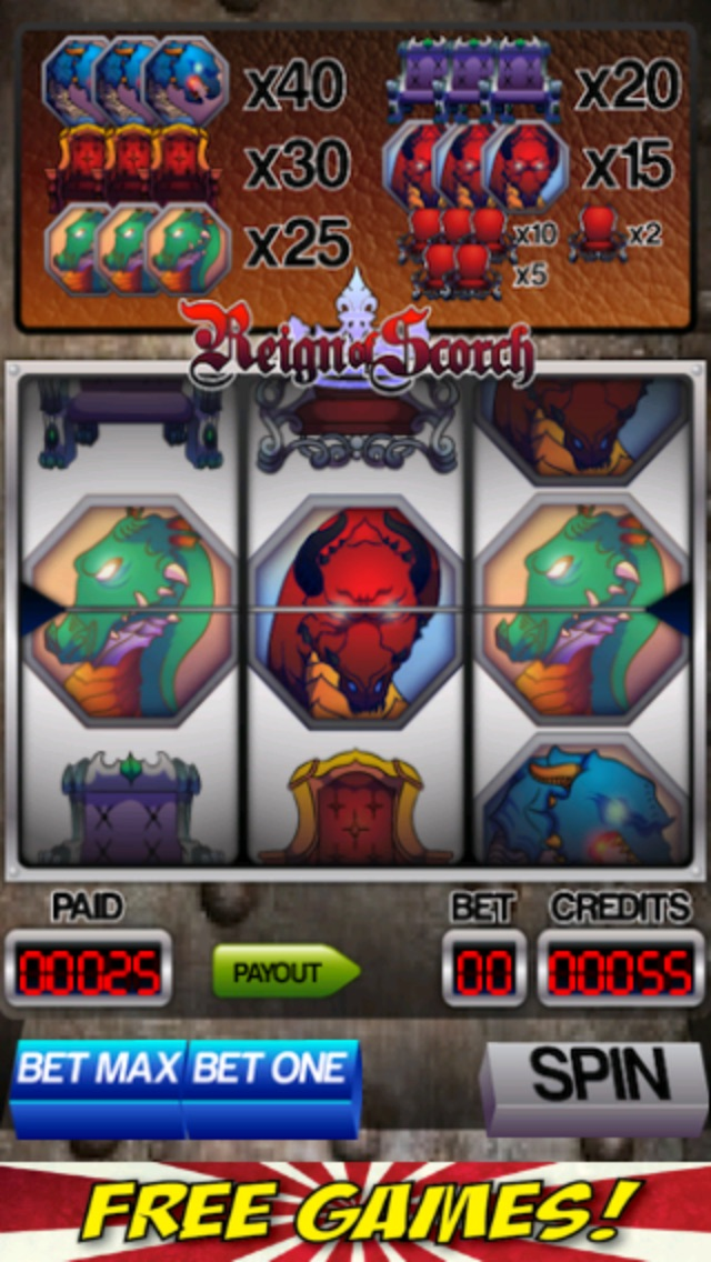 Dragons and Thrones Slot Machine-1