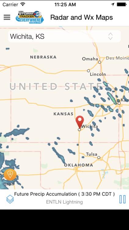 Storm Tracker 3 - Wichita Radar & Forecasts