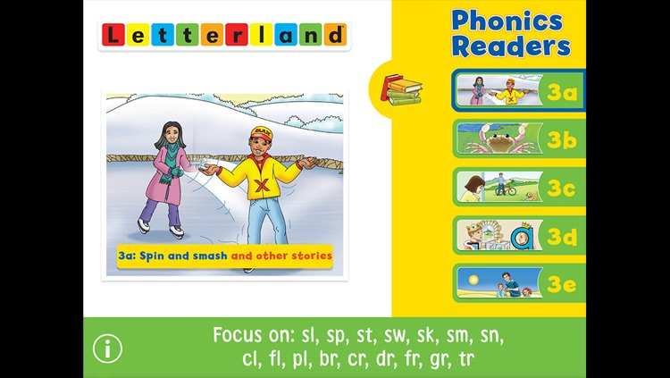 Letterland Phonics Readers Set 3