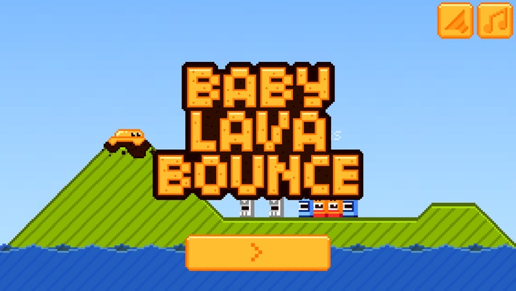 Baby Lava Bounce screenshot-4
