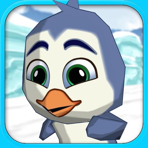 Penguin Frozen Runner - Cartoon game for children free