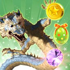 Lucky Dragon Uni Aventure - Match or balle s et écraser les pierres précieuses