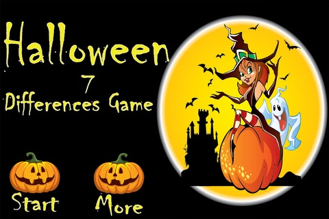 Halloween Differences Game screenshot 1