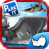 Air-Craft Carrier Fly and Park Planes On a War Boat Game