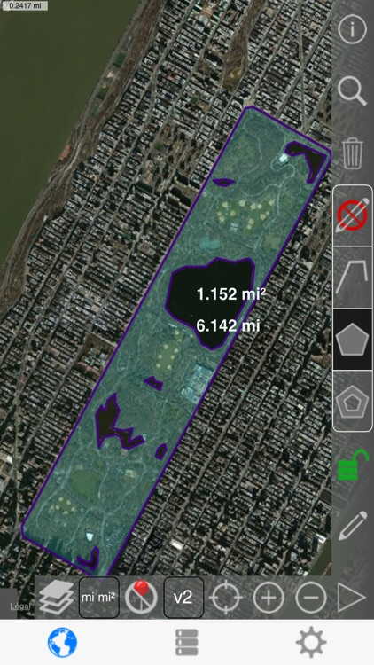 Distance and Area Measure