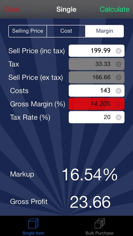 Margin Calc Pro screenshot-4