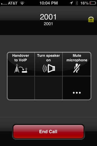 Screenshot of bMC Client