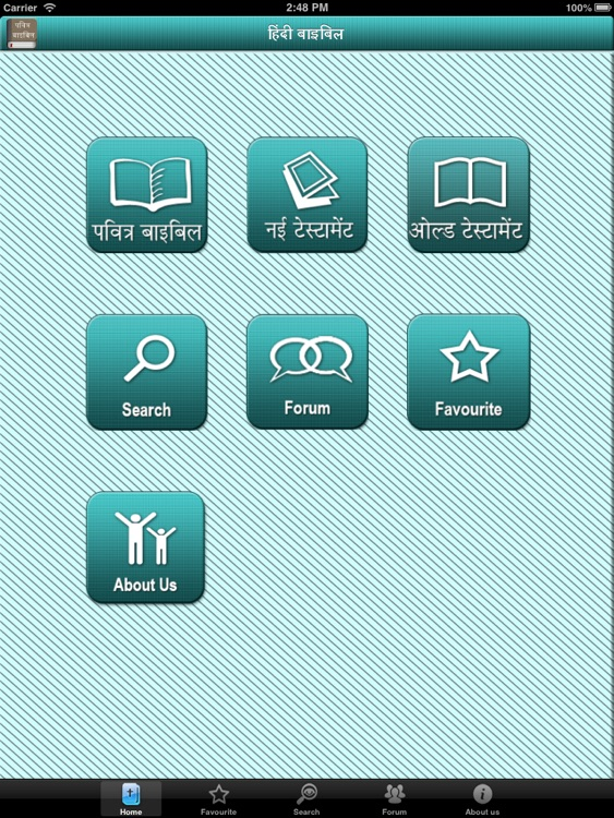 Hindi bible for iPad screenshot-0