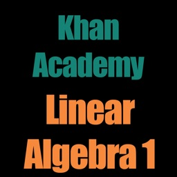 Khan Academy: Linear Algebra 1