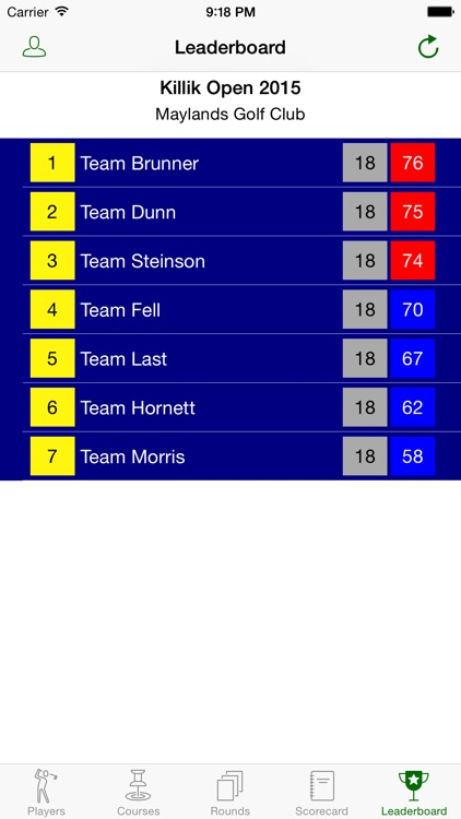 Golf Scorecard Pro screenshot-0