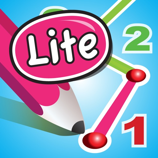 DotToDot numbers & letters lite