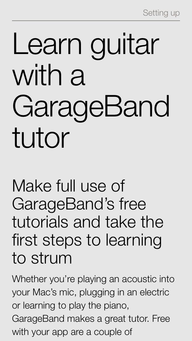 Complete Manual Garageband Edition