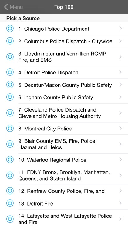 5-0 Radio Pro Police Scanner (Extra Feeds) app image