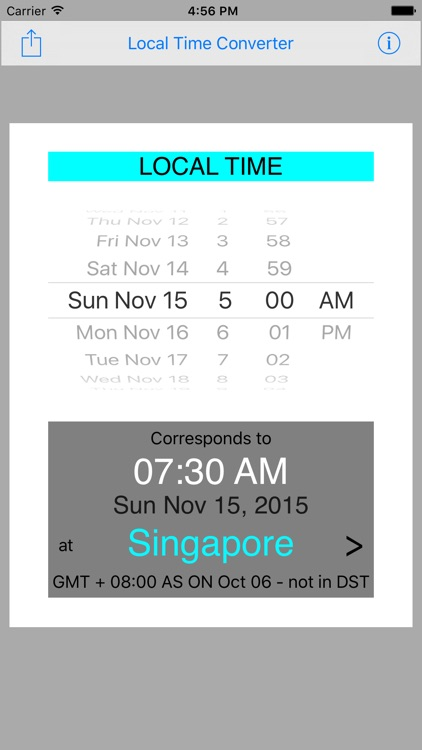 Local Time Converter screenshot-3