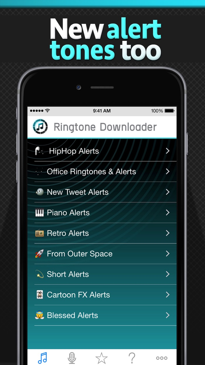 Free Ringtone Downloader - Download the best ringtones Screenshot