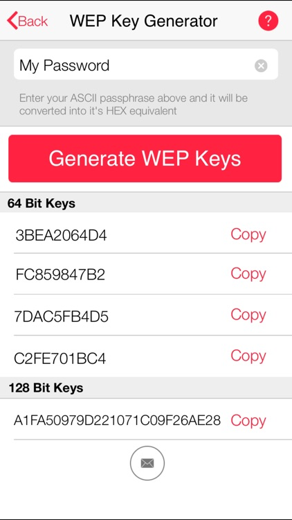 wep and wpa key generator