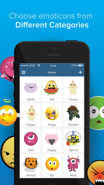 Emoticon and Emoji Box for iPhone -Save Emoticons,emoji,pic and images for Sending Message! 200 FREE emoticons and emojis - screenshot-3