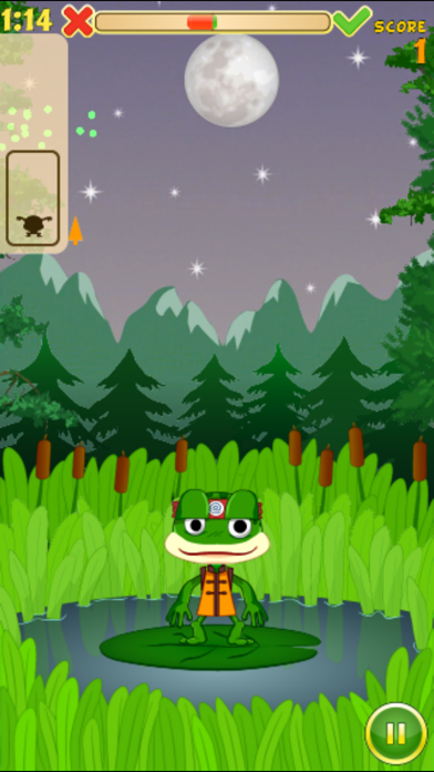 Hungry Frog Lite screenshot two