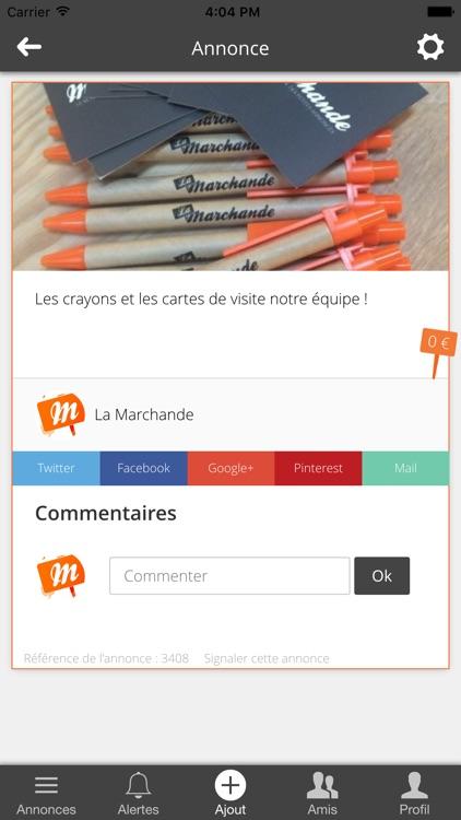 La Marchande screenshot-3