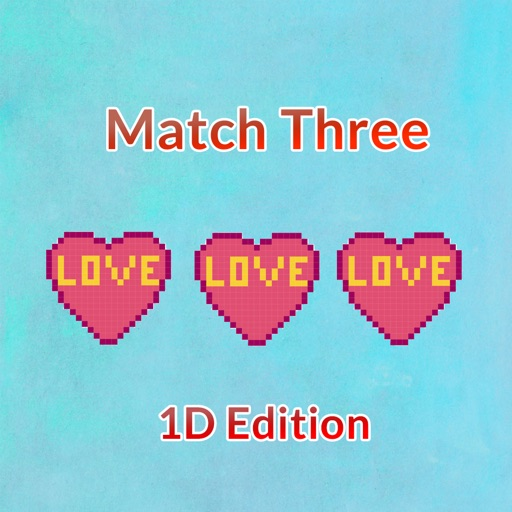 Match Three - 1D Edition