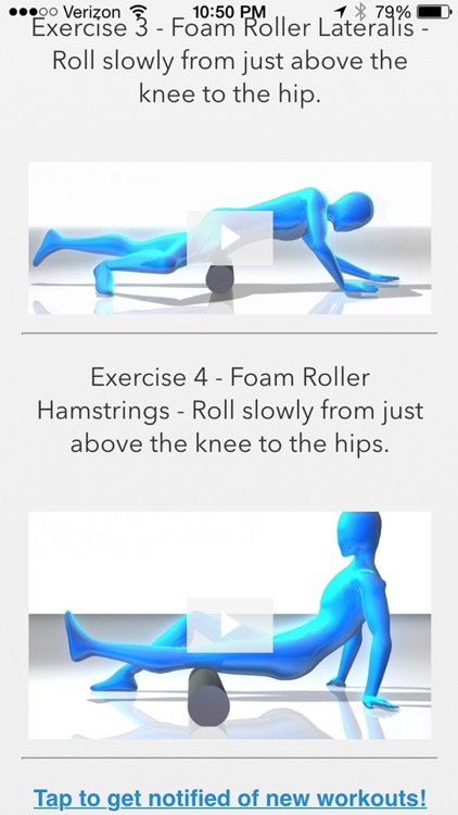 Foam Rolling Exercises