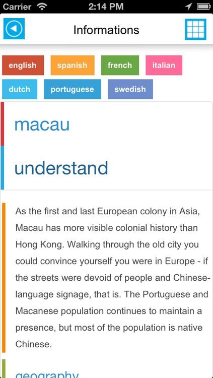 Macau - Macao offline map, guide, hotels & flights screenshot-4