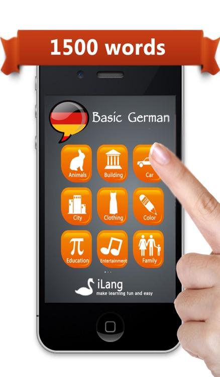 Learn German  iLang™