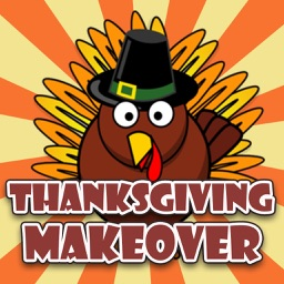 Thanksgiving Day Makeover Pro - Visage Photo Editor to Swirl Holiday Stickers on Yr Face