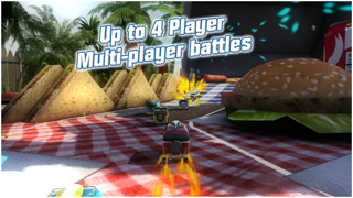 Screenshot from Table Top Racing