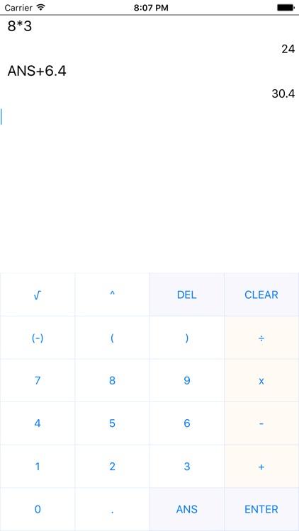 Calculator83