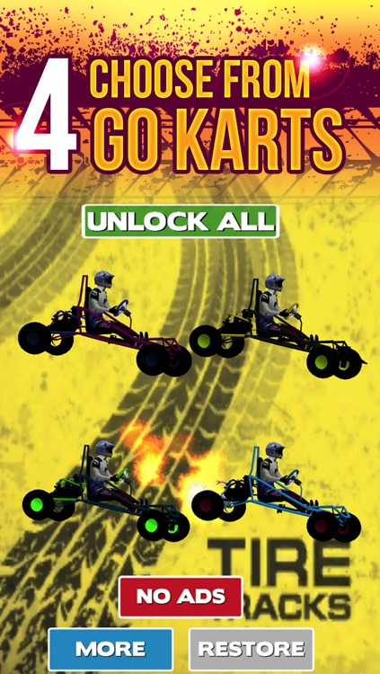 3D Go Kart Racing Madness By Street Driving Escape Simulator Game For Teens Free screenshot-3
