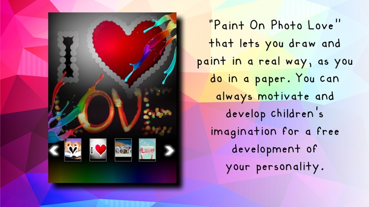 Paint On Photos Love
