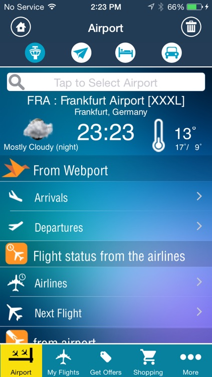 Frankfurt Airport Pro (FRA) Flight Tracker screenshot-1