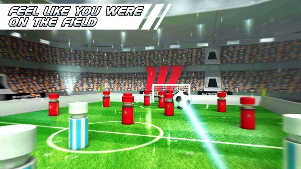Superstar Pin Soccer – Table Top Cup League – La Forza Liga of the World Champions