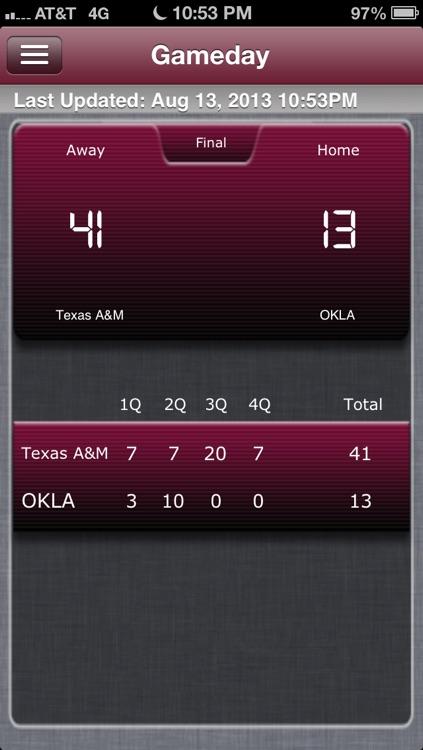 Texas A&M Football Live screenshot-4