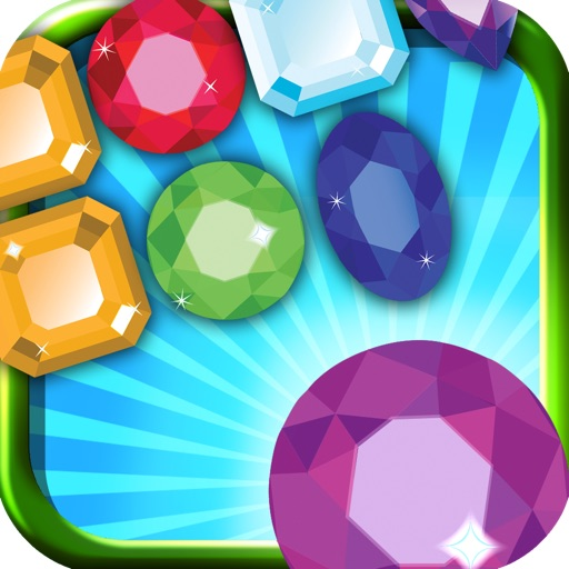 A Match 3 Jewels And Diamonds Pro Game icon