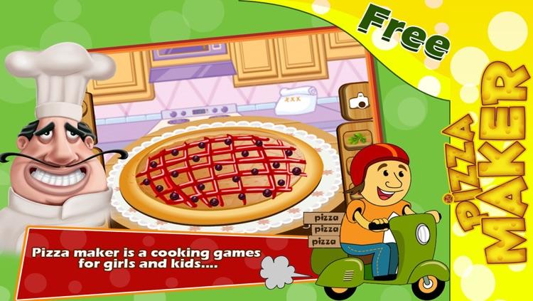 Pizza Maker :  Baby Pizza Maker Salon screenshot-3