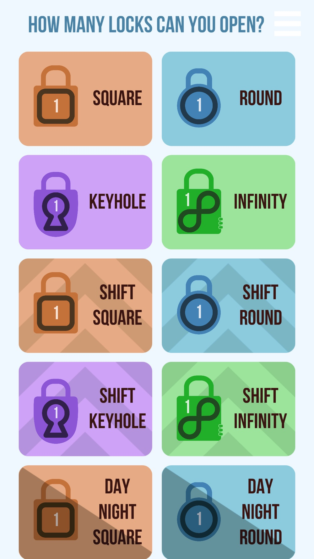 Amazing Locks open as many locks as you can Cheat Codes