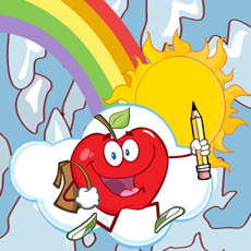 Activities of Color The Fruits And Vegetables Coloring Pages