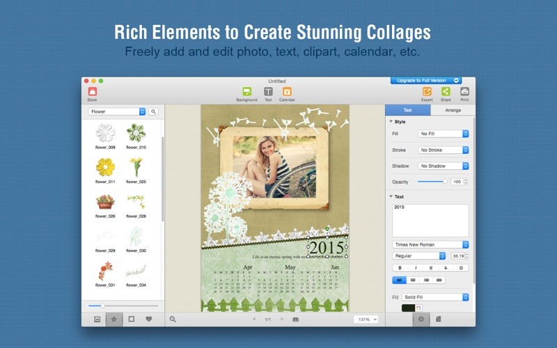 Picture Collage Maker 3 Lite review screenshots
